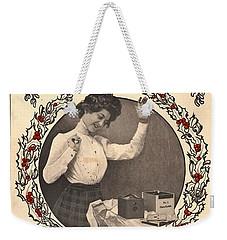 Vintage Kodak Christmas Card Weekender Tote Bag