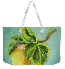 Vintage Lemon II Weekender Tote Bag