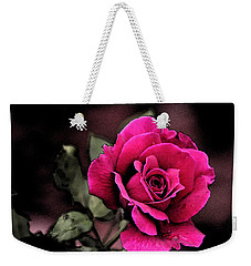 Vintage Love Rose Weekender Tote Bag