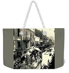 The City That Care Forgot New Orleans Weekender Tote Bag