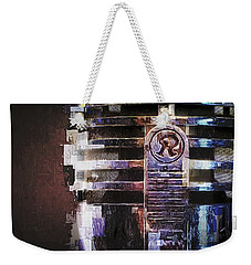Vintage Microphone Painted Weekender Tote Bag