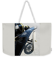 Weekender Tote Bag featuring the photograph Vintage Model T by Ann Horn