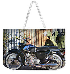 Vintage Motocycle Weekender Tote Bag