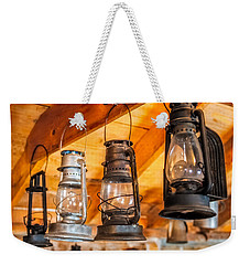 Vintage Oil Lanterns Weekender Tote Bag