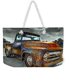 Vintage  Pickup Truck Weekender Tote Bag