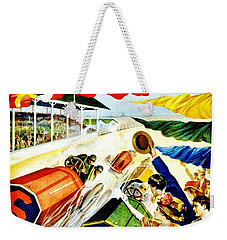 Vintage Poster - Sports - Indy 500 Weekender Tote Bag by Benjamin Yeager