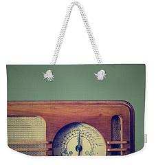 Vintage Radio Weekender Tote Bag