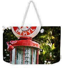 Vintage Texaco Gas Pump Weekender Tote Bag