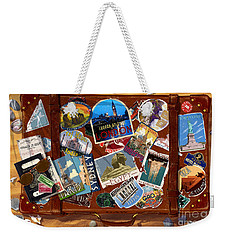 Vintage Travel Case Weekender Tote Bag