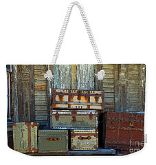 Vintage Trunks   Sold Weekender Tote Bag