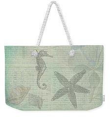 Vintage Under The Sea Weekender Tote Bag