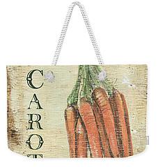Vintage Vegetables 4 Weekender Tote Bag by Debbie DeWitt