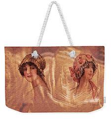 Vintage Victorian Rivals II Weekender Tote Bag