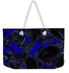 Vinyl Blues Weekender Tote Bag