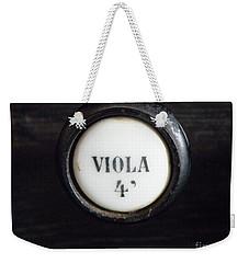 Viola Weekender Tote Bag