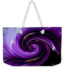 Viola Swirl Weekender Tote Bag
