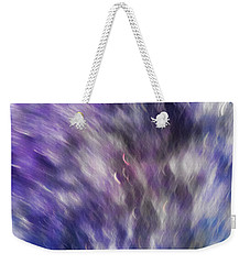 Violet Breeze Weekender Tote Bag