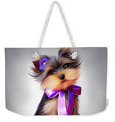 Violet  Weekender Tote Bag by Catia Cho