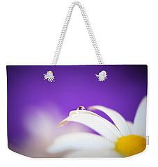 Violet Daisy Dreams Weekender Tote Bag