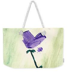 Violet Solo Weekender Tote Bag