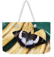 Violet-spotted Charaxes Butterfly Weekender Tote Bag
