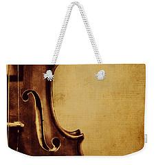Violin Portrait  Weekender Tote Bag