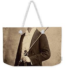 Violinist, C1900 Weekender Tote Bag