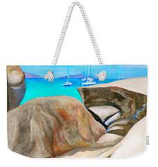 Virgin Gorda Baths Weekender Tote Bag