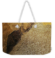 Virgin Mary-detail Of Deesis Mosaic  Hagia Sophia-day Of Judgement Weekender Tote Bag