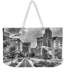 Weekender Tote Bag featuring the photograph Virginia Ave. by Howard Salmon