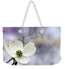 Virginia Dogwood Weekender Tote Bag