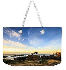 Weekender Tote Bag featuring the photograph Virxe Do Porto Meiras Galicia Spain by Pablo Avanzini