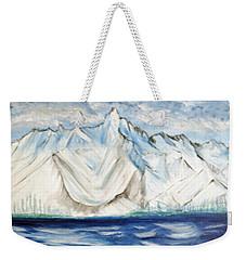 Vision Of Mountain Weekender Tote Bag