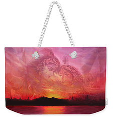 Vision Over The Yamuna Weekender Tote Bag