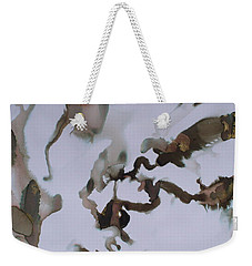 Weekender Tote Bag featuring the painting Vision Quest by Mary Sullivan
