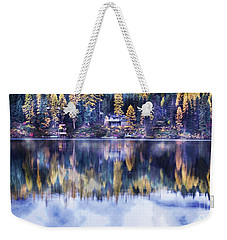 Visions- Lake Inez Weekender Tote Bag