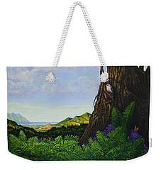 Visions Of Paradise V Weekender Tote Bag