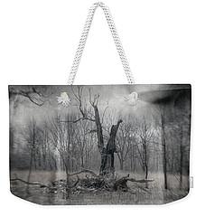 Visitor In The Woods Weekender Tote Bag