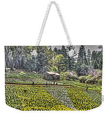 Visitors On Daffodil Hill Weekender Tote Bag