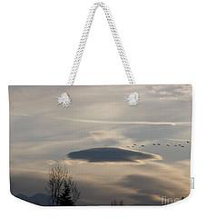 Visitors Weekender Tote Bag
