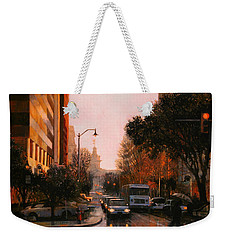 Vista Drizzle Weekender Tote Bag by Blue Sky