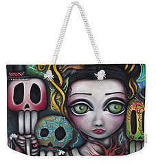 Viva La Vida  Weekender Tote Bag by Abril Andrade Griffith