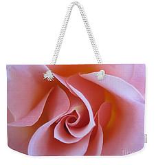 Vivacious Pink Rose Weekender Tote Bag