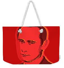 Vladimir Putin Weekender Tote Bag by Jean luc Comperat