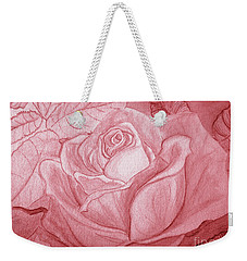 Voir La Vie En Rose Weekender Tote Bag by Heather  Hiland