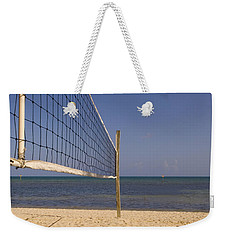 Vollyball Net On The Beach Weekender Tote Bag