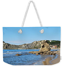 Weekender Tote Bag featuring the photograph Vouno 2 by George Katechis