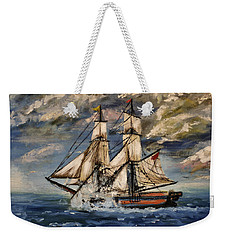 Voyage Of The Cloud Chaser Weekender Tote Bag