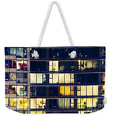 Voyeuristic Pleasure Cdlxxxviii Weekender Tote Bag by Amyn Nasser