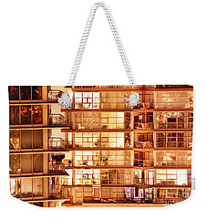 Weekender Tote Bag featuring the photograph Voyeuristic Pleasures Cdxci by Amyn Nasser